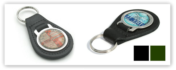 British tax disc key fobs for classic and vintage vehicles